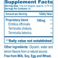Adult Trifal™ Drops Supplement Facts