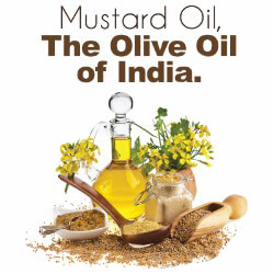 Mustard Oil, the Olive Oil of India | Ayush Herbs